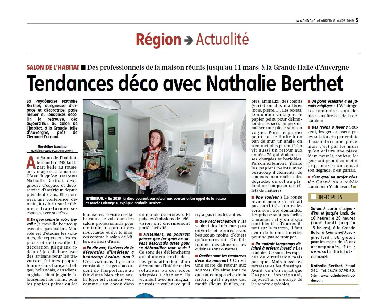 Décoratrice intérieur Auvergne
