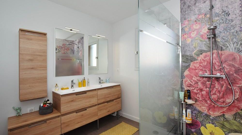 Agencement sur mesure salle de bain THIERS